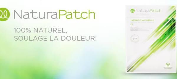 NaturaPatch® Et la douleur s'en va !  Solution 100 % naturelle... Composé d'une vingtaine d'ingrédients végétaux issus de la tradition médicinale asiatique, parmi lesquels l'écorce de cannelle et l'huile de sésame.