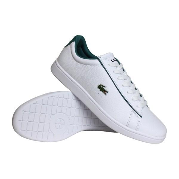 Lacoste Carnaby Evo 120 sneakers heren wit/groen