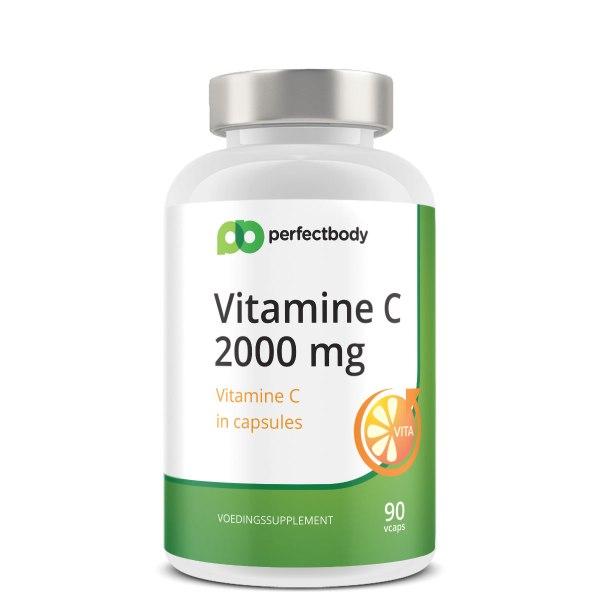Perfectbody Vitamine C Vcaps - 2000 Mg Per Dag - 90 Vcaps