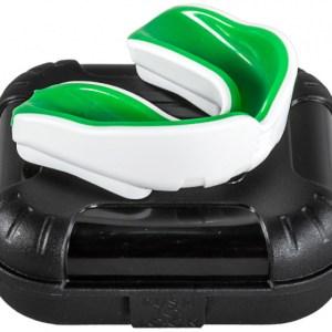 Makura gebitsbeschermer Ignis Pro junior siliconen wit/groen
