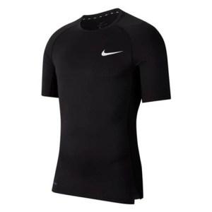 Nike Pro SS thermoshirt heren zwart