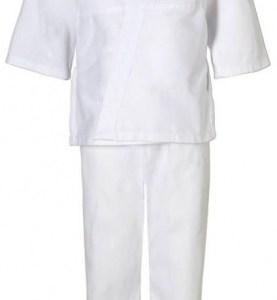 adidas judopak J181 junior wit maat 90 cm