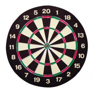 Bull's dartbord Windsor Paper met 2 dartsets 45,7 cm