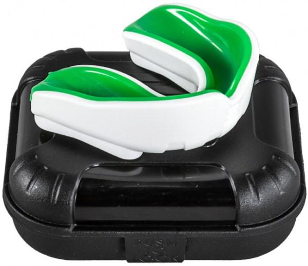 Makura gebitsbeschermer Ignis Pro senior siliconen wit/groen