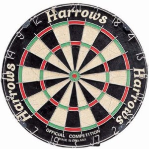 Harrows dartbord Official Competition sisal 46 cm