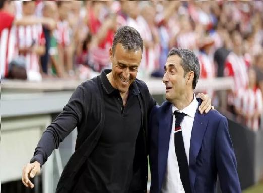 برشلونة يعلن تعيين إرنستو فالفيردي مدربا خلفا للويس انريكي