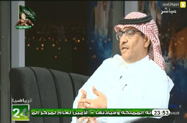 بالفيديو..سليمان الجعيلان : رئيس النادي الأهلي لا يملك قراراه