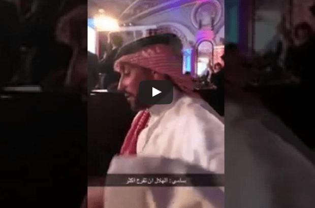 """بالفيديو: الهلال دايمآ تقوله """" مبرووك """"!"""