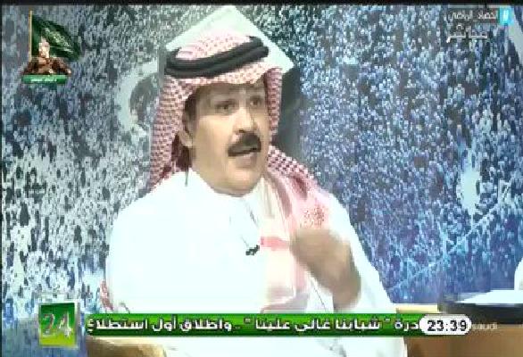 """فيديو.. الطريقي: الشباب فضح نفسه ببيانه الأخير ولم يقدم أي دليل على إدعاءه ضد اللاعب """"محمد العويس"""""""