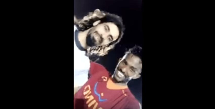 بالفيديو..حسين عبدالغني في احد حواري جده مع اللاعب ابراهيم هزازي