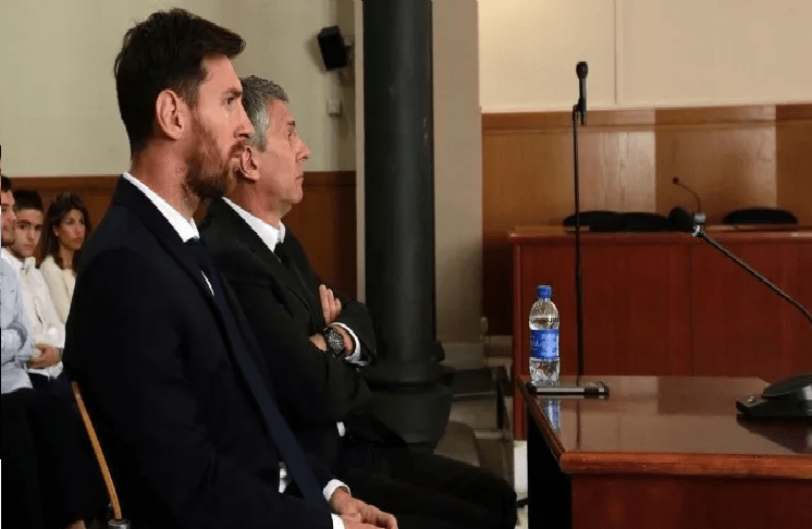 القضاء الإسباني يستبدل سجن ميسي بالغرامة