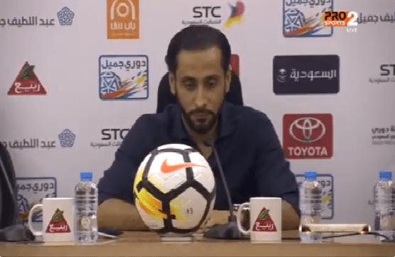 بالفيديو.. شاهد تعليق سامي الجابر بعد خسارة الشباب امام الباطن