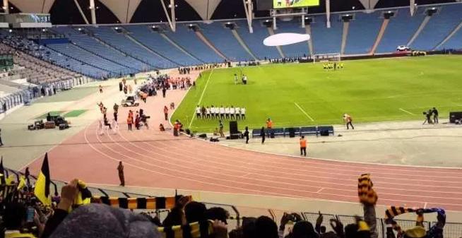 """هيئة الرياضة توافق على حضور العوائل احتفال اليوم الوطني في ملعب """"الدرة"""""""