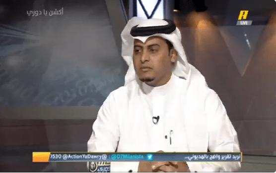 بالفيديو.. سلطان اللحياني: بيروزي سيندفع ومن يندفع أمام الهلال سيعاني