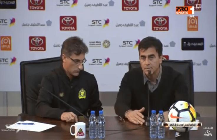 بالفيديو.. هكذا علق مدرب النصر غوستافو بعد تعادل فريقه مع الفيصلي!
