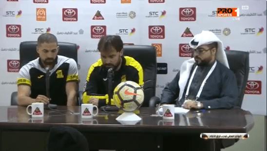 بالفيديو.. تعليق مدرب الاتحاد سييرا بعد فوز فريقه على الباطن!