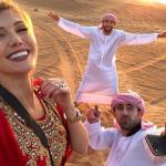 بالصور .. نجم أتلتيكو مدريد بالملابس العربية في دبي