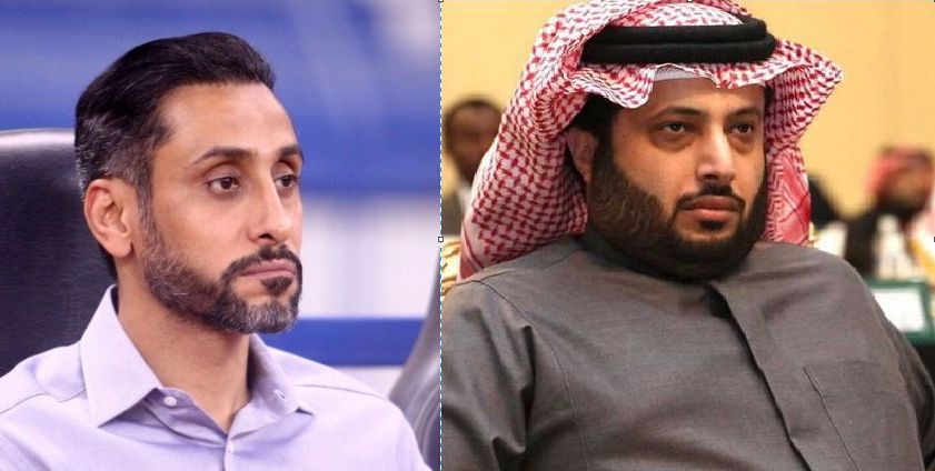 رد مثير من تركي آل الشيخ على تغريدة سامي الجابر يشعل تويتر