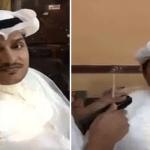 شاهد .. إعلامي يخسر التحدي ويحلق شاربه بعد مباراة الهلال والشباب