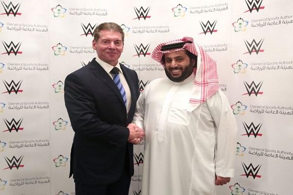 مفاجأة.. الهيئة العامة للرياضة توقع اتفاقية مع WWE لعرض منافسات المصارعة حصريًا في المملكة لمدة 10 سنوات