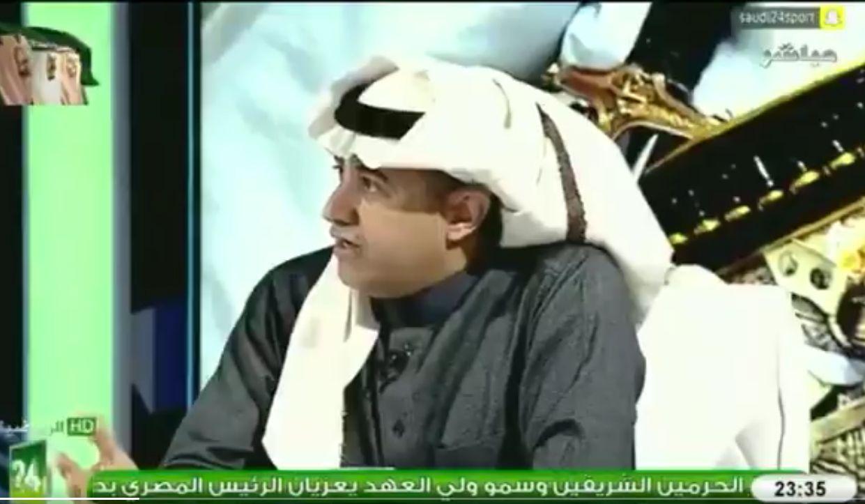 بالفيديو: محمد الغامدي: هذين اللاعبين يعبثان بالهجوم الاتحادي