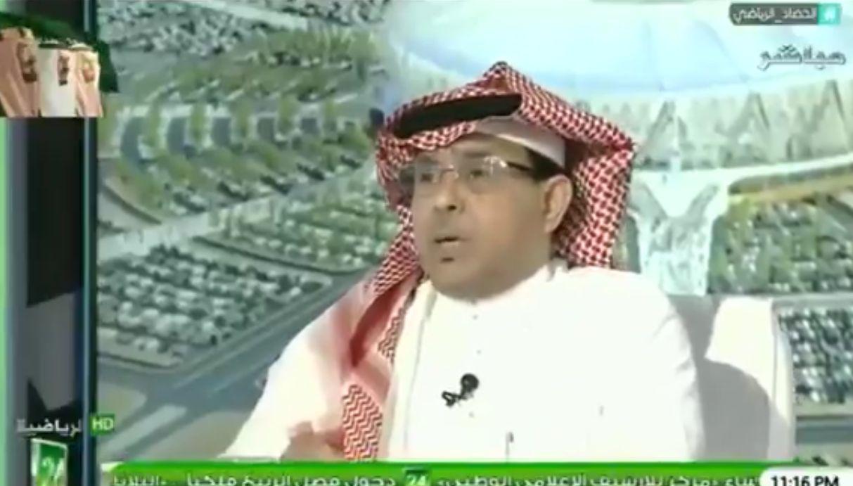 بالفيديو: مساعد العمري: أحمد الفريدي لم يعد للملاعب بعد خروجه من الهلال!