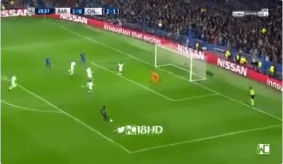 بالفيديو.. ديمبلي يسجل الهدف الثاني لبرشلونة في شباك تشيلسي بعد تمريرة رائعة من ميسي