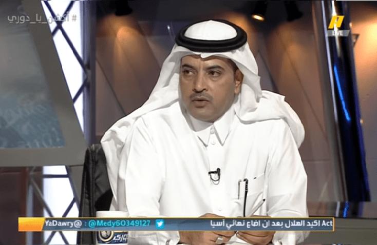 عبدالله بن زنان يطلق تغريدة مثيرة بعد خروج الهلال من دوري أبطال آسيا