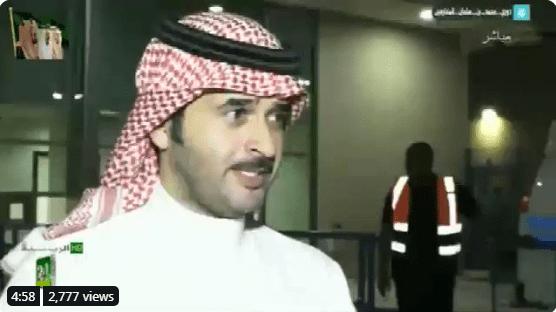 شاهد عمرو أديب ساخرا من أمير قطر أثناء مصافحته للرئيس