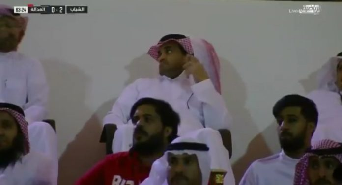 Witness .. An angry reaction to Khaled Al-Baltan after Abdullah Al-Hamdan wasted a penalty before justice!