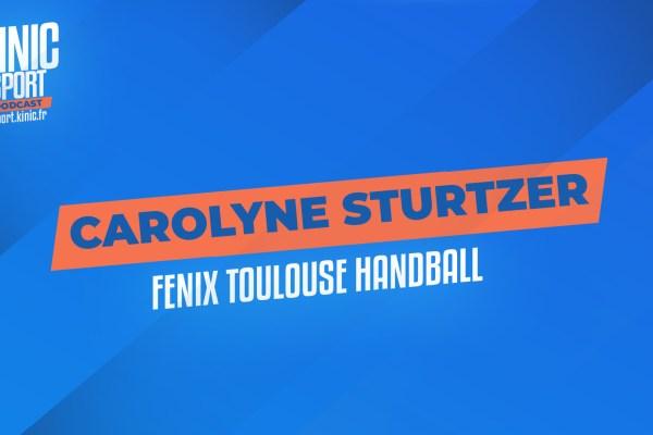 Carolyne Sturtzer du Fenix Toulouse Handball