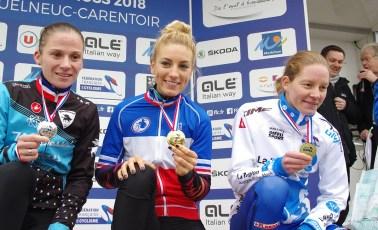 Lauréates Elites Dames