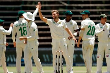 Jansen replaces Baartman as South Africa fly to Pakistan