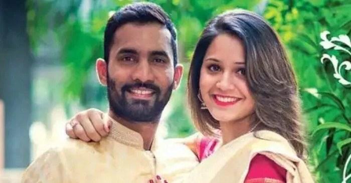 Dinesh Kathik and Dipika Pallikal Karthik