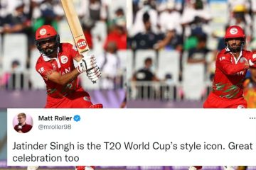T20 World Cup 2021 [Twitter reactions]: Jatinder Singh, Aqib Ilyas star in Oman's dominating win over PNG