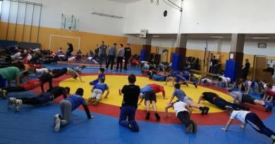 Četiri predstavnika Hrvačkog kluba Zadar na trening kampu u Gospiću