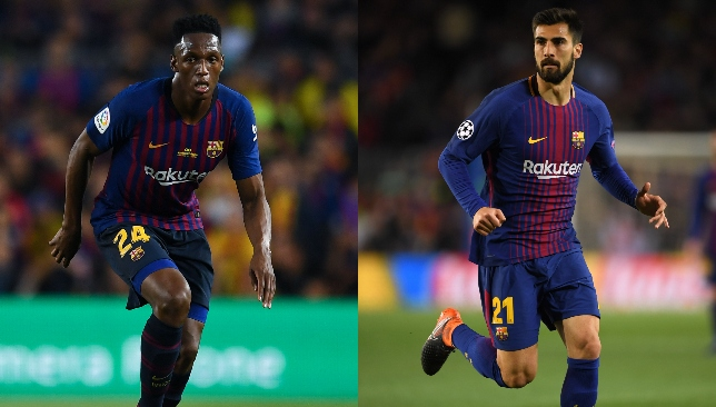 Barca duo Yerry Mina and Andre Gomes could be heading to Goodison.