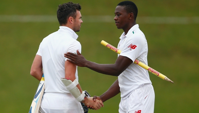 Rabada looks most likely to come near Anderson's tally in the future.