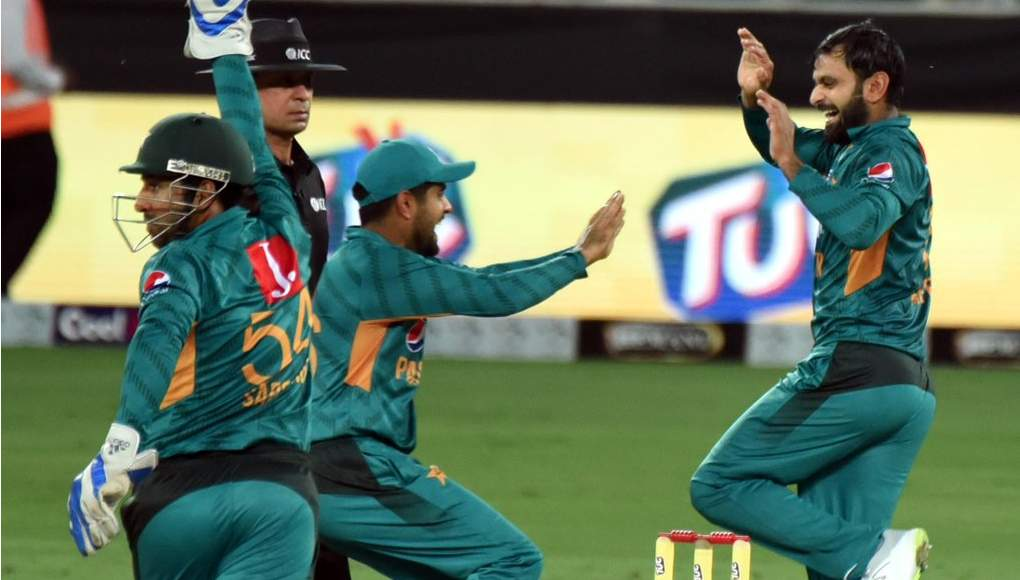 Pakistan celebrate another victory over Australia.