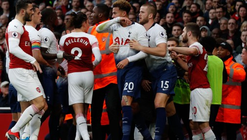 North London derby news: Trouble mars north London derby ...