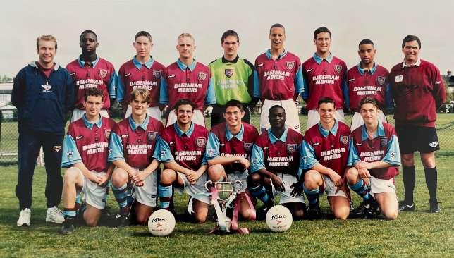 Tony Carr in his West Ham days