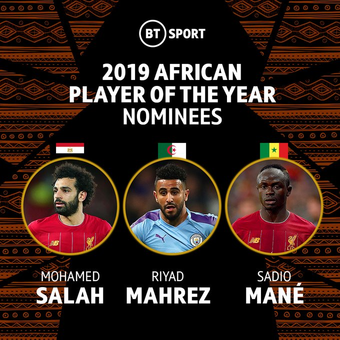 Caf Player of the year