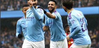 Manchester City 4 - 0 Fulham
