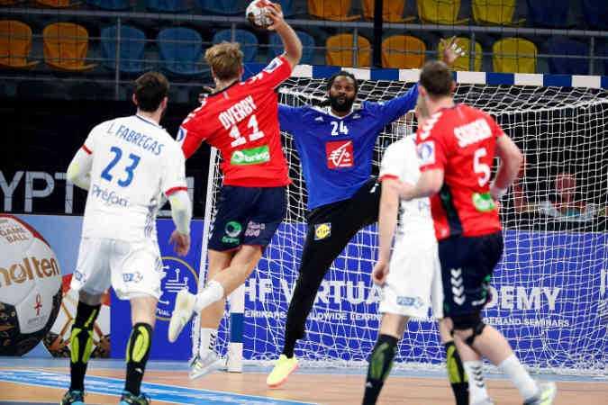 Handball WM 2021 - Frankreich vs Norwegen - Wesley Pardin - Copyright: FFHANDBALL / S.PILLAUD