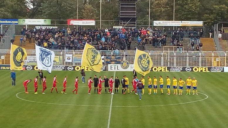 1. FC Lok Leipzig vs. Berliner AK - Fußball Regionalliga - Bruno-Plache-Stadion am 03.10.2018 - Foto: SPORT4FINAL