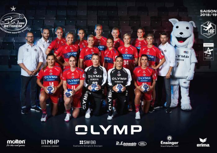 SG BBM Bietigheim – Saison 2018-2019 – Handball Bundesliga – EHF Champions League – Foto: SG BBM Bietigheim