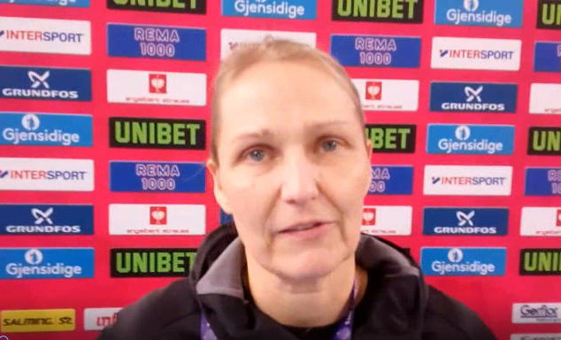 Handball EM 2018 - Helle Thomsen - Dänemark - Foto: SPORT4FINAL