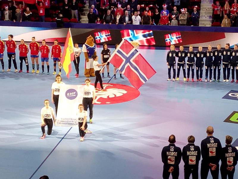 Handball EM 2018 - Norwegen vs. Spanien - Nancy am 12.12.2018 - Foto: SPORT4FINAL