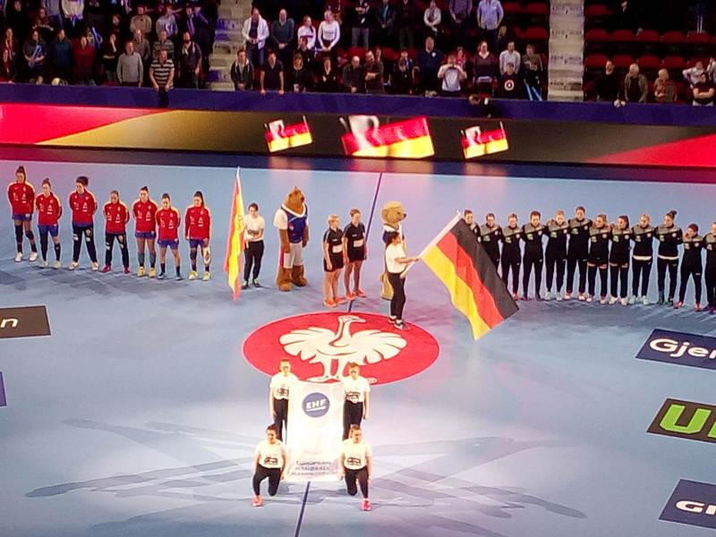 Handball EM 2018 - Deutschland vs. Spanien - Foto: SPORT4FINAL