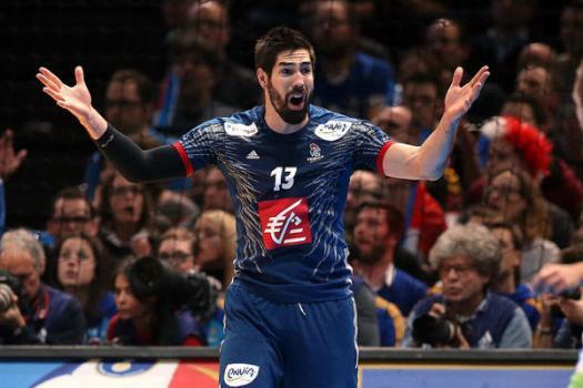 Nikola Karabatic (Frankreich) - Handball WM 2017 Halbfinale: Frankreich übermächtig gegen Slowenien ins Finale - Foto: France Handball
